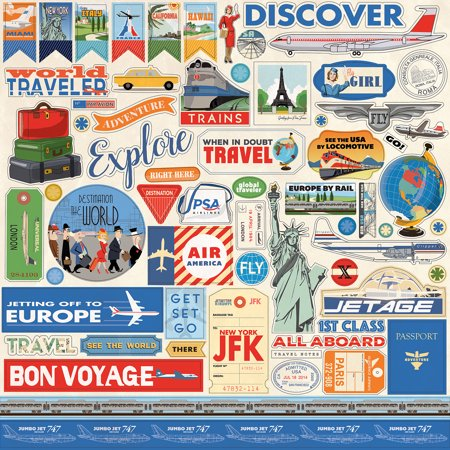 Passport Stickers (