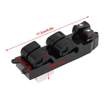 HURRISE Electric Power Master Window Switch for Toyota Tacoma 4 Door 2001-2004 8482060090, Window Switch, Master Window Switch - image 6 de 12