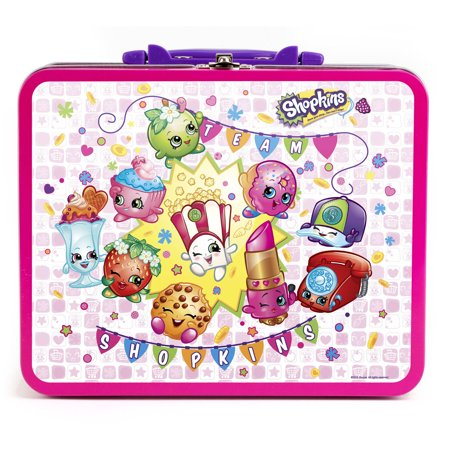Shopkins 100-Piece Puzzle Assortment in Lunchbox Tin 100 Piece Puzzle Tin