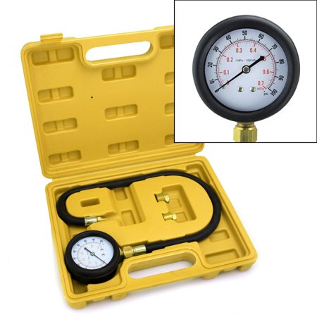 Auto Oil Pressure Gauge Engine Diagnostic Test