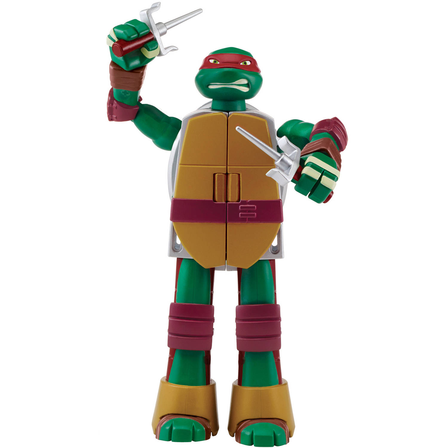 TMNT Mutations Raphael Ninja Turtle into Weapon Action Figure