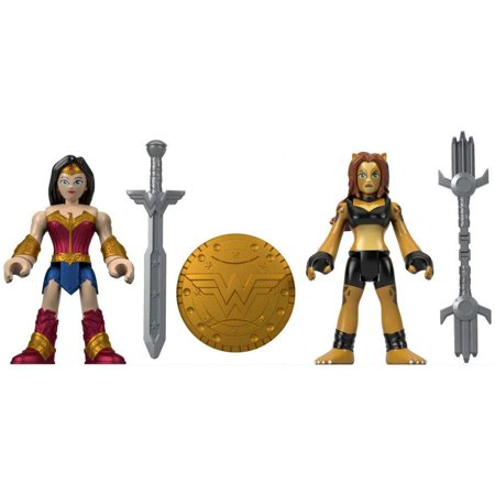 - Imaginext DC Super Friends Wonder Woman & Cheetah