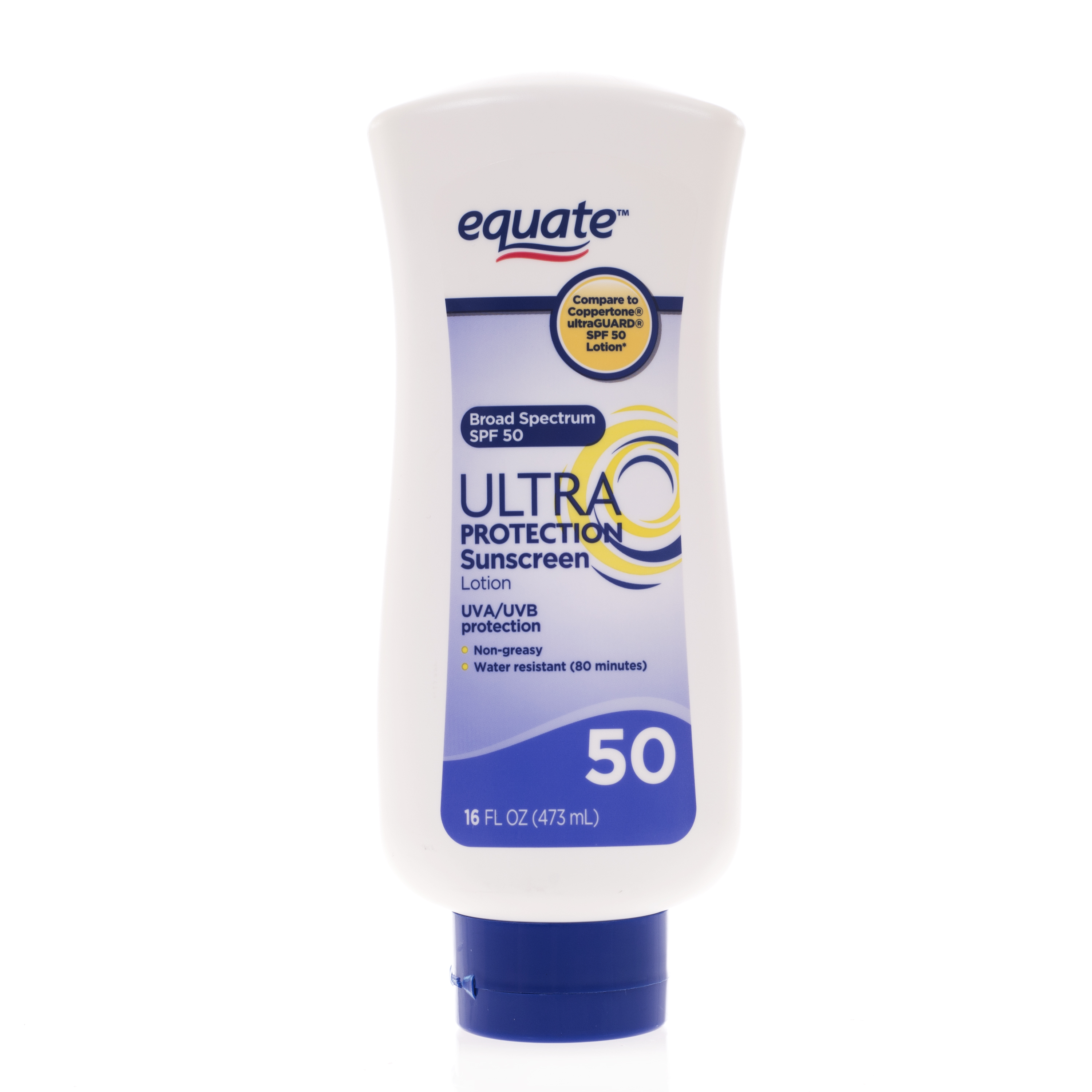 Equate Ultra Protection Suncreen Lotion, SPF 50