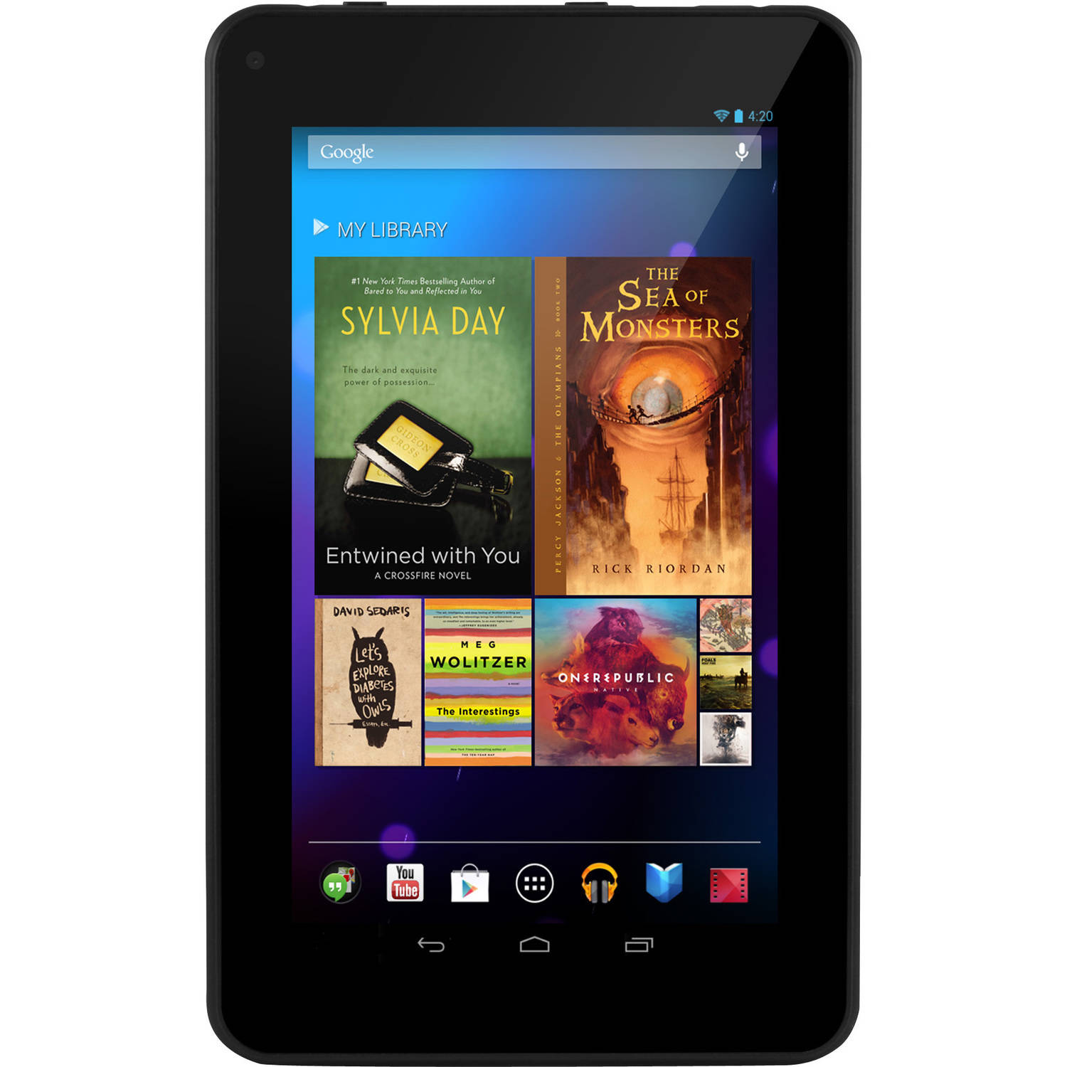 "Ematic 7"" Tablet 8GB Memory Quad Core"