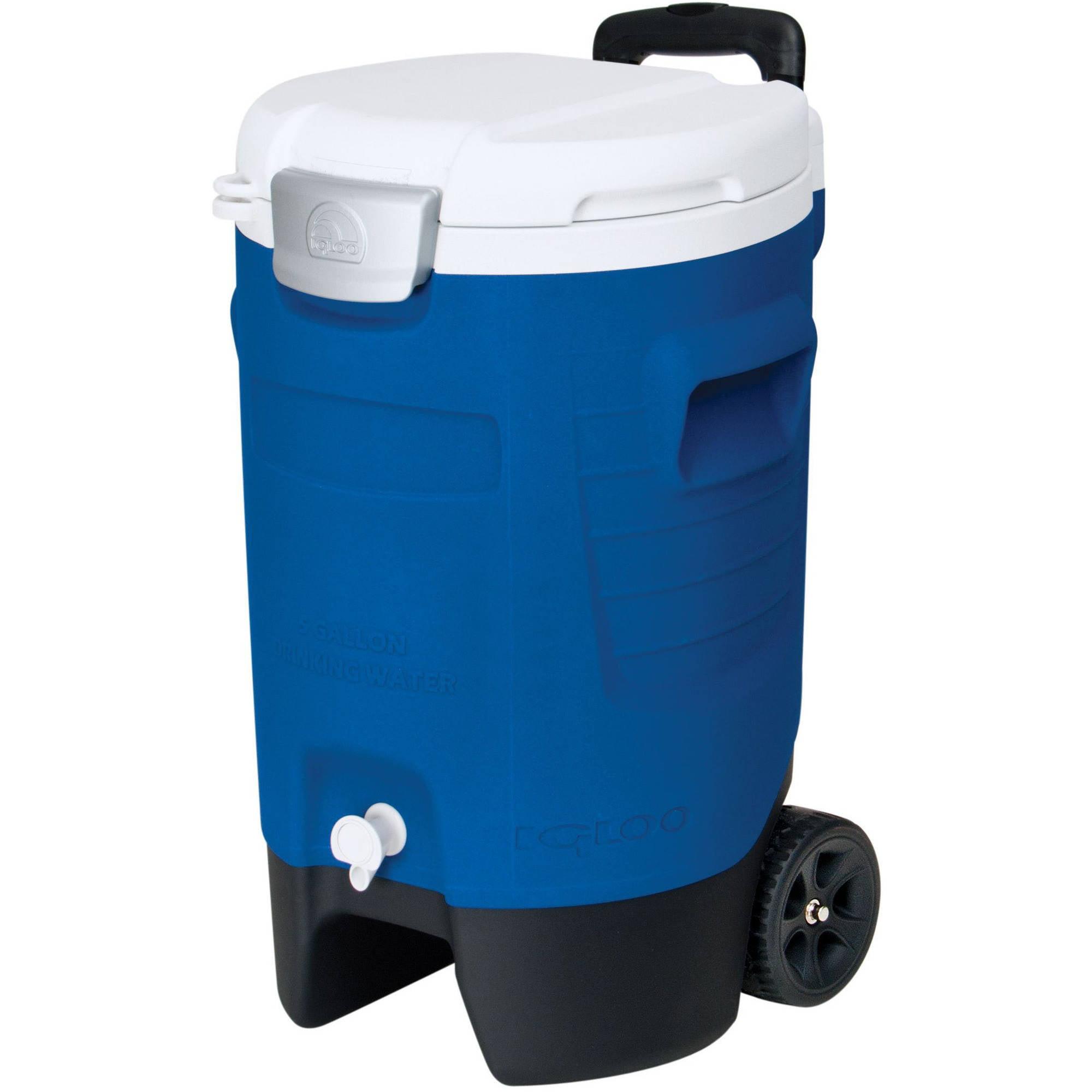 Igloo 5-Gallon Beverage Roller, Majestic Blue