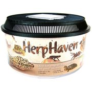 "Lees HerpHaven Round Terrarium Low Round - (5.5"" Tall x 11"" Diameter)"