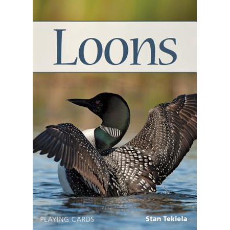 Nature's Wild Cards: Loons Playing Cards (Other) (Common Loon Bird)