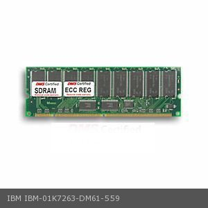 DMS Compatible/Replacement for IBM 01K7263 5500 M10 8661 512MB DMS Certified Memory PC100 REG. 64X72-8 ECC CL2 168 Pin  SDRAM DIMM - DMS