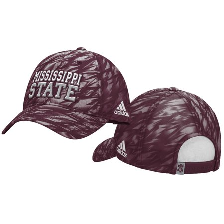 best sneakers 81301 57e79 Mississippi State Bulldogs Adidas NCAA Sideline Climalite Adjustable Slouch  Hat - Walmart.com