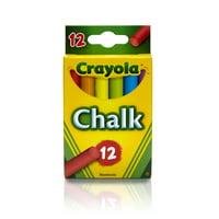 Crayola Multicolored Classroom Chalk, 12-count