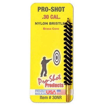 - PRO-SHOT NYLON RIFLE BRUSH .30 CAL