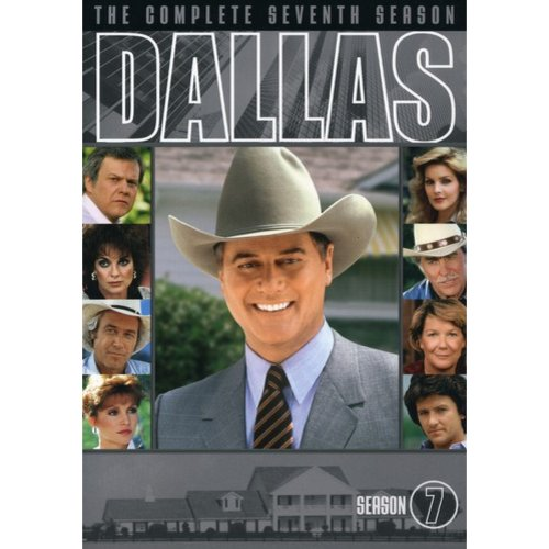 DALLAS-COMPLETE 7TH SEASON (DVD/5 DISC/P&S-1.33/ENG-SDH SUB)