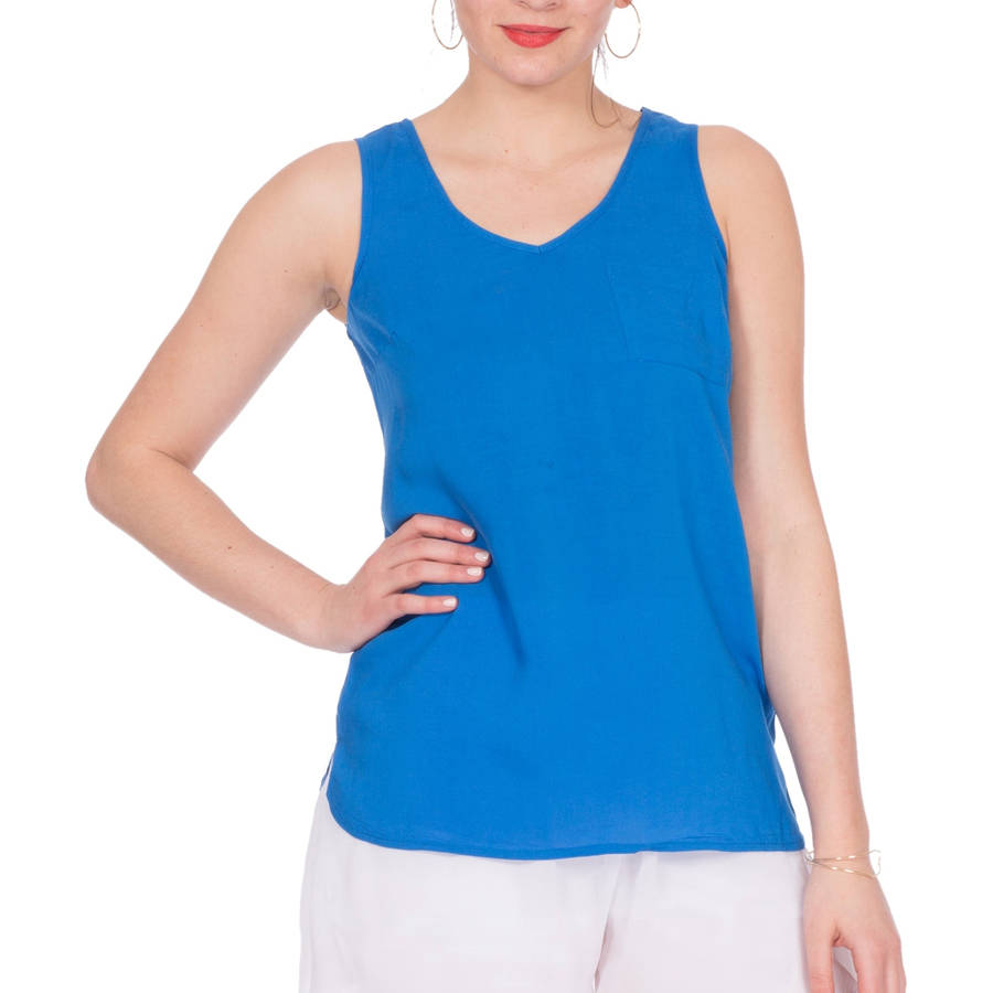 Plus Moda Women's  Oversized Flowy Tank Top