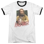 Saturday Night Live The Falconer Mens Adult Heather Ringer Shirt