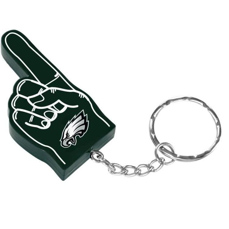 Philadelphia Eagles NFL #1 Finger Keychain