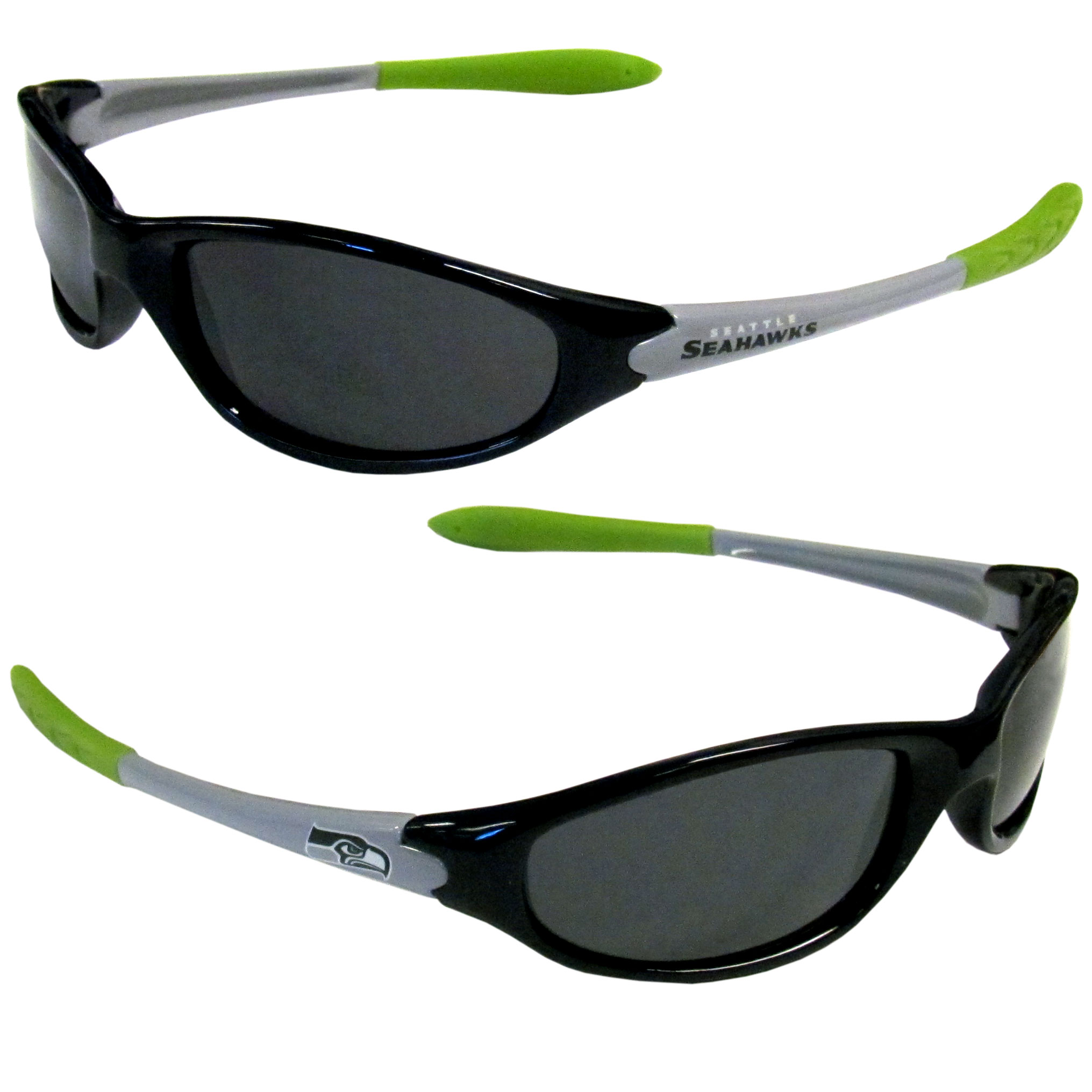 Seattle Seahawks Official NFL Team Sunglasses by Siskiyou 034367