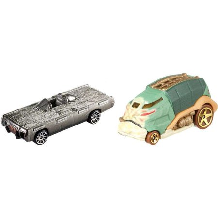 Hot Wheels Star Wars Jabba The Hutt Vs. Han Solo In Carbonite , Character Cars