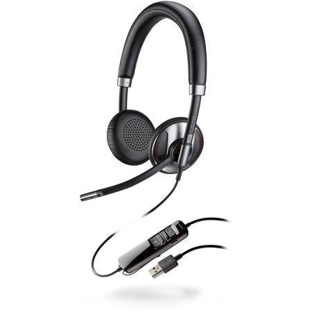 Plantronics Blackwire C720 M Over The Head Stereo  Microsoft  Bluetooth Enabled Corded Usb Headset