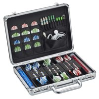 Casemaster Legion Aluminum Dart Case (Holds 9 Darts and with Accessories, not included)