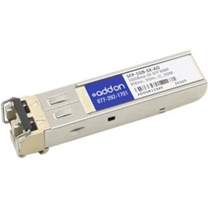 AddOn Meraki now Cisco SFP-1GB-SX Compatible TAA Compliant 1000Base-SX SFP Transceiver (MMF, 850nm, 550m, LC, DOM) – 100% application tested and guaranteed compatible