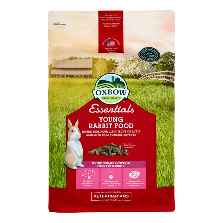 Oxbow Pet Products Essentials Bunny Basics Young Rabbit All Breeds Dry Small Animal Food, 10 Lb