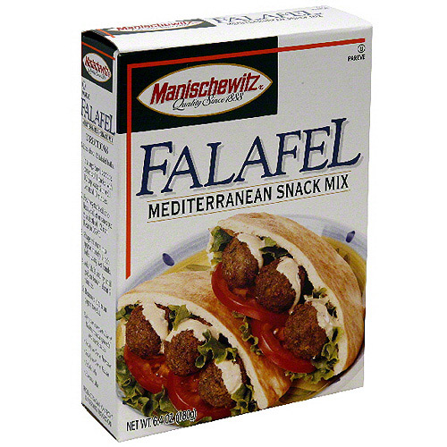 Manischewitz Falafel Mediterranean Snack Mix, 6.4 oz (Pack of 12)
