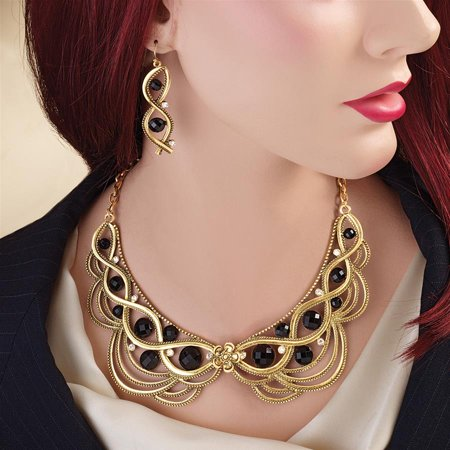 Lady Ginger Jewelry Set Design Toscano Lady Ginger Necklace Lady Ginger