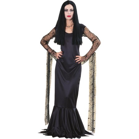 Morris Womens Tv & Movie Characters Addams Family Cara Mia Dress L, Style RU15526LG](Wednesday Addams Dress)