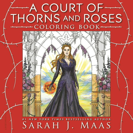 A Court of Thorns and Roses Coloring Book This must-have companion invites readers to experience the vivid imagery of Sarah J