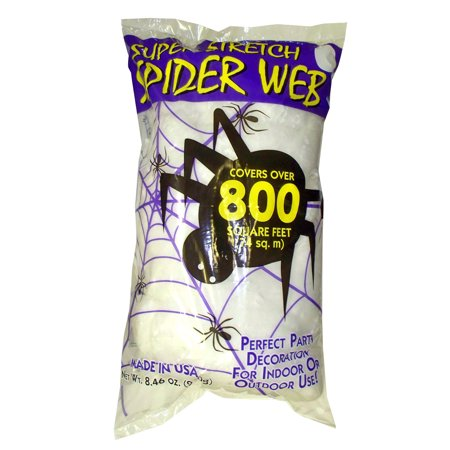 Halloween Spider Web White - Large Halloween Spider Web