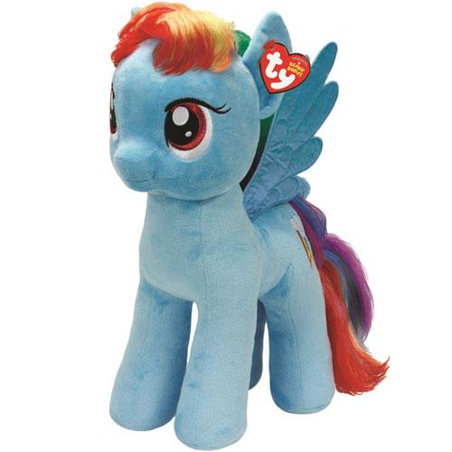 My Little Pony Ty Rainbow Dash Large Plush Walmart Com