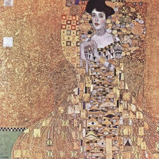 Portrait of Adele Bloch-Bauer I, 1907 Poster Print by Gustav Klimt (15 x 15)