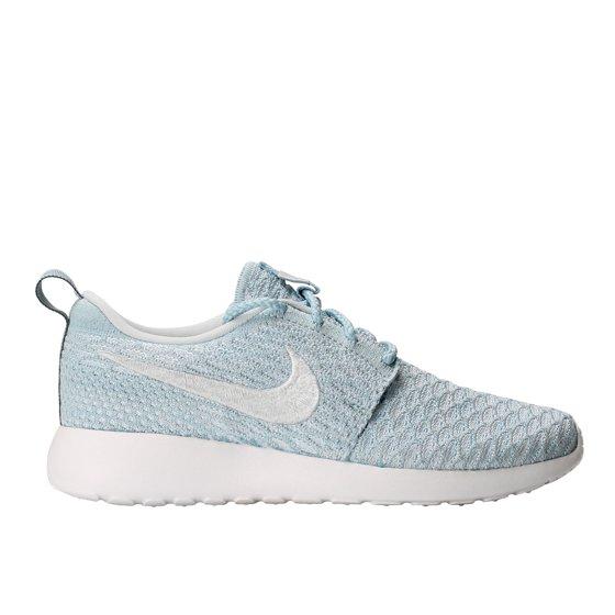 c8eb3722478 Nike - Nike Roshe One Flyknit Light Armory Blue White Women s ...