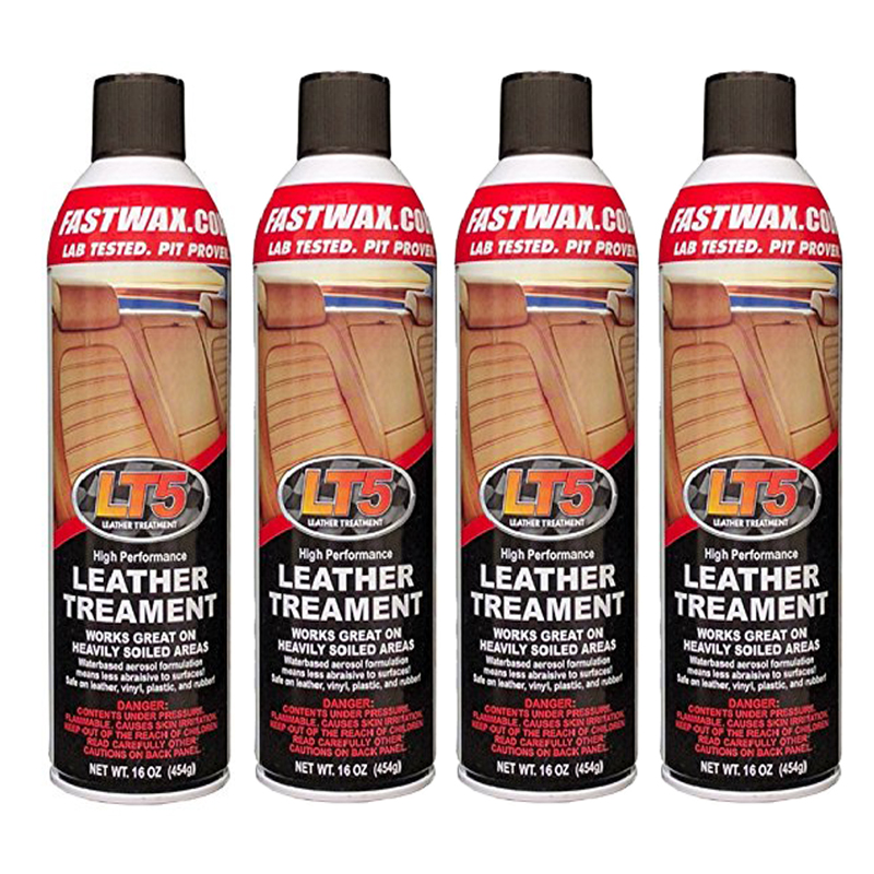 LT5 High Performance Leather Treatment Cleaner and Conditioner by FW1 Fast Wax (4 Pack)