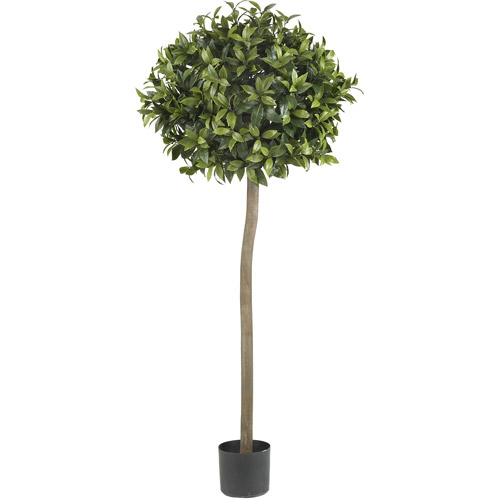 Sweet Bay Ball Topiary Silk Tree