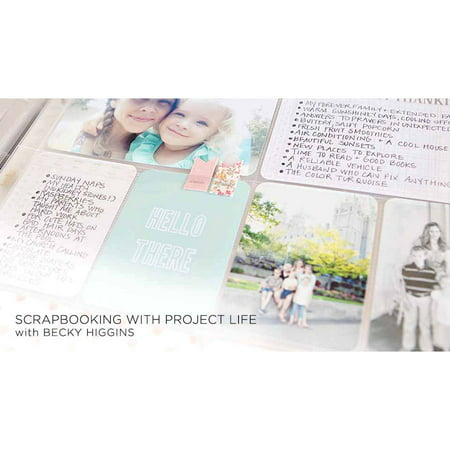 Online Class: Scrapbooking with Project Life