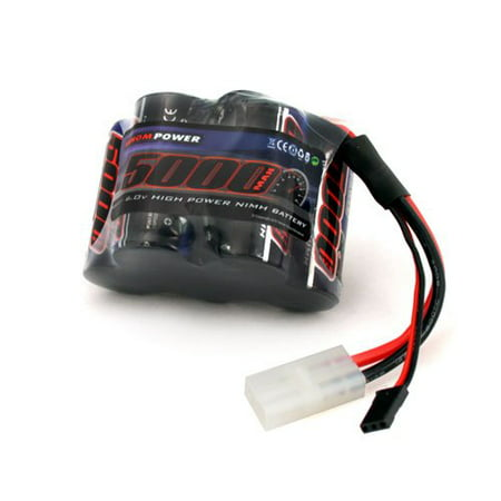 Venom 6v 5000mAh 5-Cell Hump Receiver NiMH Battery for HPI Baja - Baja Truck Battery