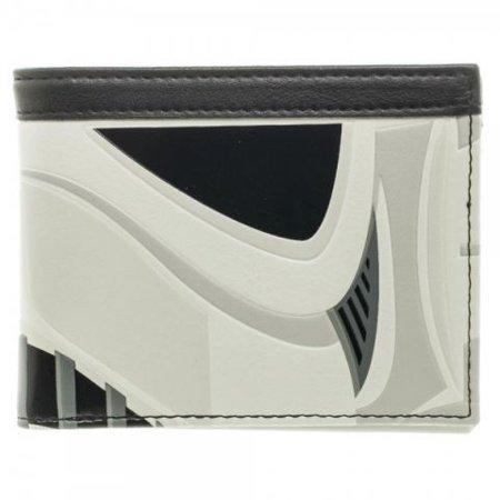 Wallet - Star Wars - Stormtrooper Helmet Bi-Fold New Licensed mw3qtwstw (New Stormtrooper Helmet)