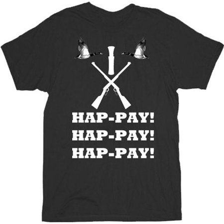 Duck Dynasty Phil Robertson Hap-pay Hap-pay Hap-pay Rifles and Duck Adult T-Shirt](Duck Dynasty Outfits)