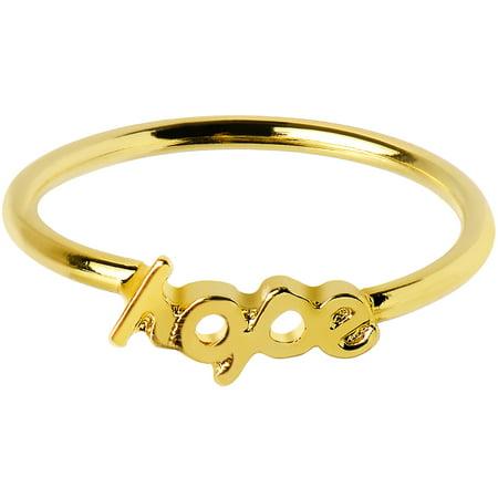 Hope Mid Finger Ring Size 3