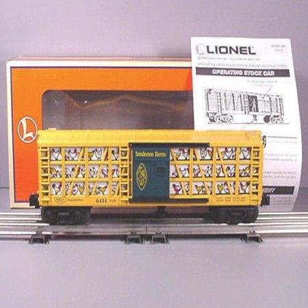 Lionel 6 19882 Sanderson Farms Poultry Car