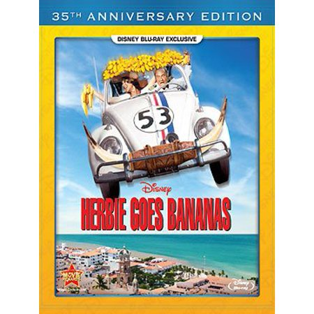 Herbie Goes Bananas - 35th Anniversary Edition Blu-ray - Halloween 35th Anniversary Edition