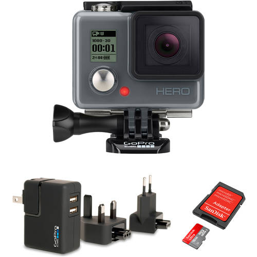 GoPro HERO Action Camcorder with Bonus Accessory and Memory Card Value bundle