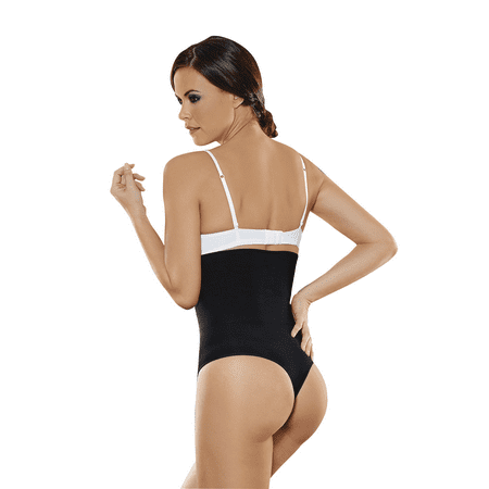 d64ac0dd9 ShapEager Body Shapers Shapewear and Fajas - ShapEager Women s Shapewear 2x  Layer High Waist Bio-Crystals Thong Body Shaper Fajas Reductoras  Colombianas ...