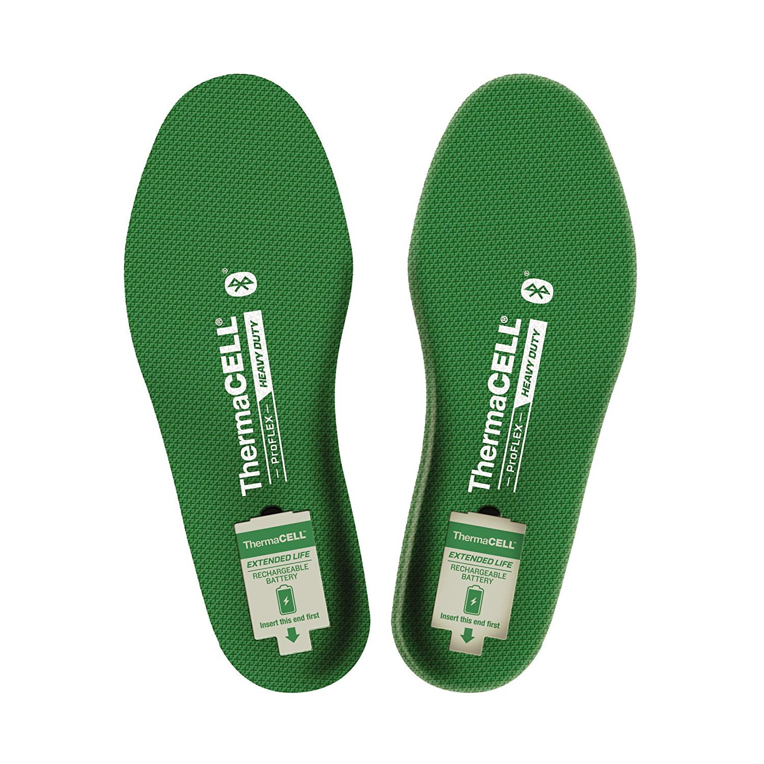 ThermaCELL ProFLEX Heavy Duty Heated Insoles with Bluetooth - Size X-Large