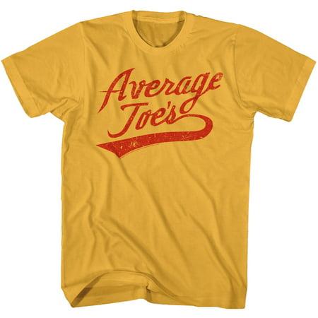 Dodgeball: A True Underdog Story Comedy Movie Average Joes Sign Logo T-Shirt Tee
