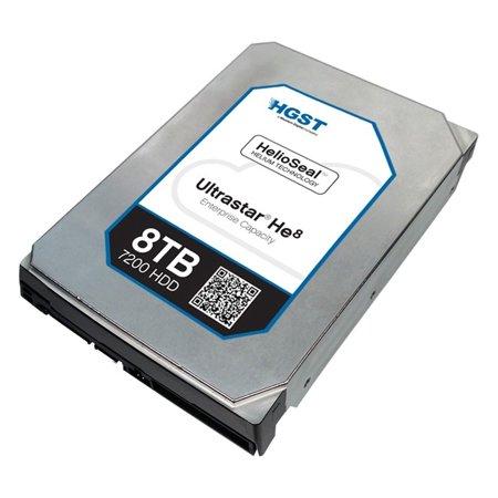 """Hgst Huh728080aln600 8 Tb 3.5"""" Internal Hard Drive - Sata - 7200 Rpm - 128 Mb Buffer (0f23662)"""