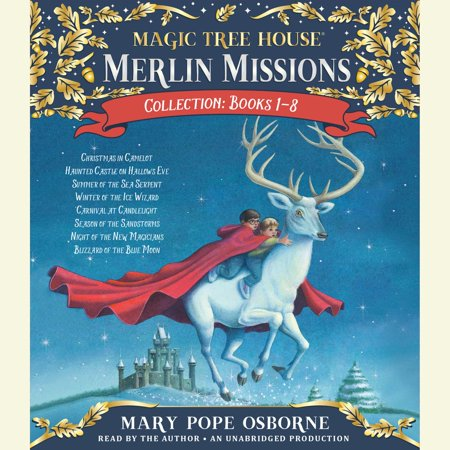 Merlin Missions Collection: Books 1-8 - 1-8 - Audiobook (Halloween 1-8 Collection)