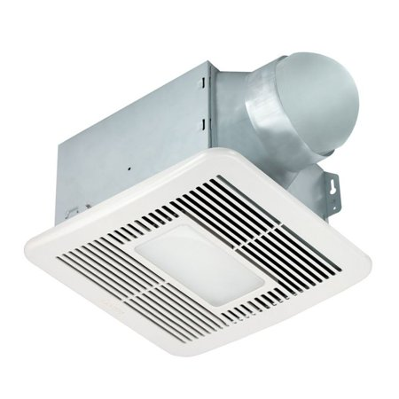 Delta Breez Bathroom Fans BreezSmart 150 CFM Fan/Led Ligh.