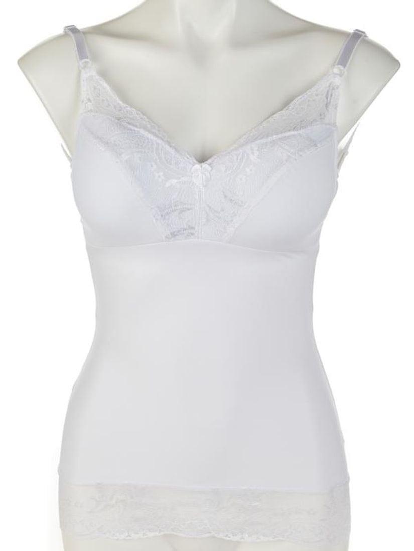Rhonda Shear Womens Pin-Up Girl Lace Camisole 6674 Small, Lilac